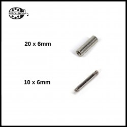 Invisible Ring screw - 6mm