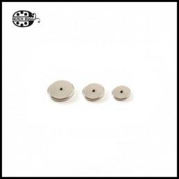 Perlenkappe Set - Flach