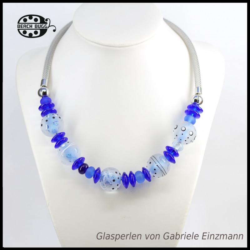 Gabi mesh necklace