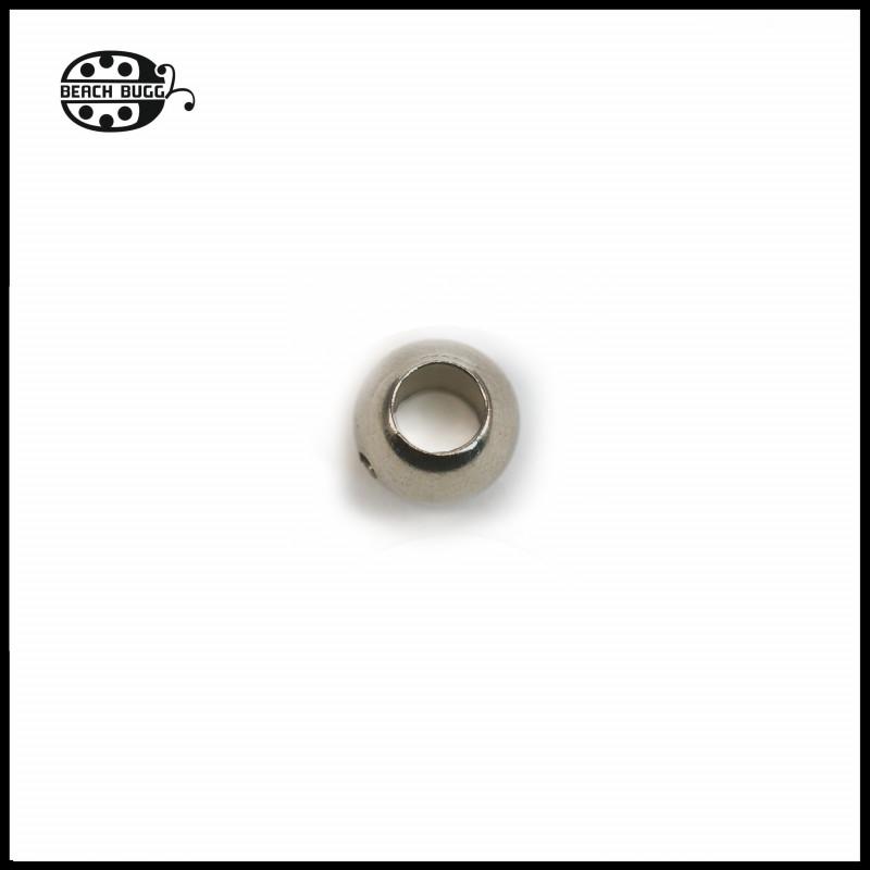 2x Kugel-Abschlussteile mit 3.5mm Loch