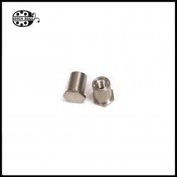 M2.5 steel screw nut 6mm - closed