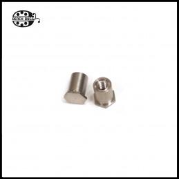 M2.5 steel screw nut 6mm
