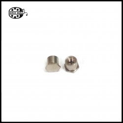 M2.5 steel screw nut 4mm