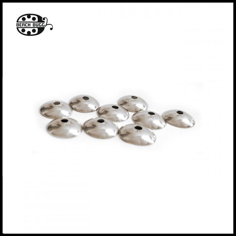 Oval Perlenkappen