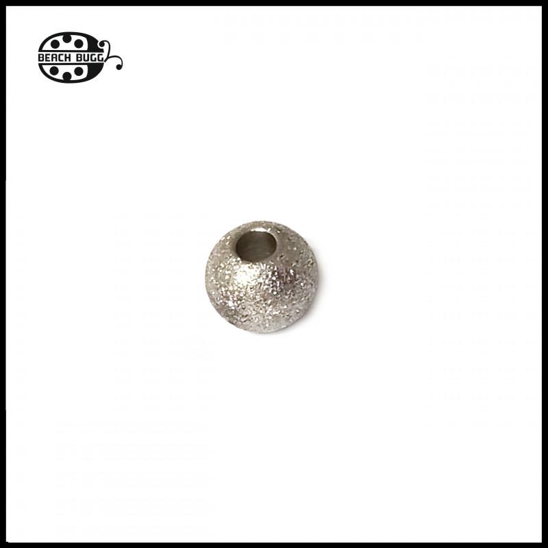 10 Stück 6mm Edelstahl Perlen