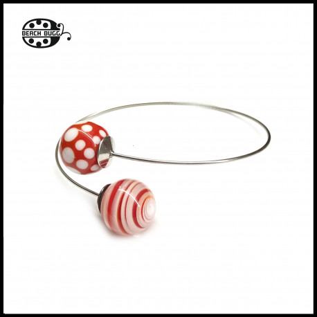 Wirebracelet for beads with M2.5 thread