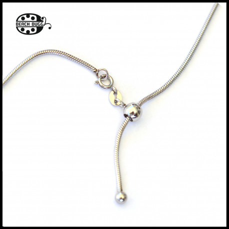 fairy - adjustable stainless steel necklace