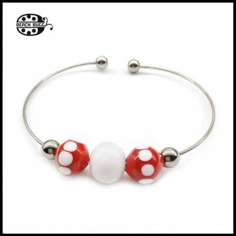 Wirebracelet for beads
