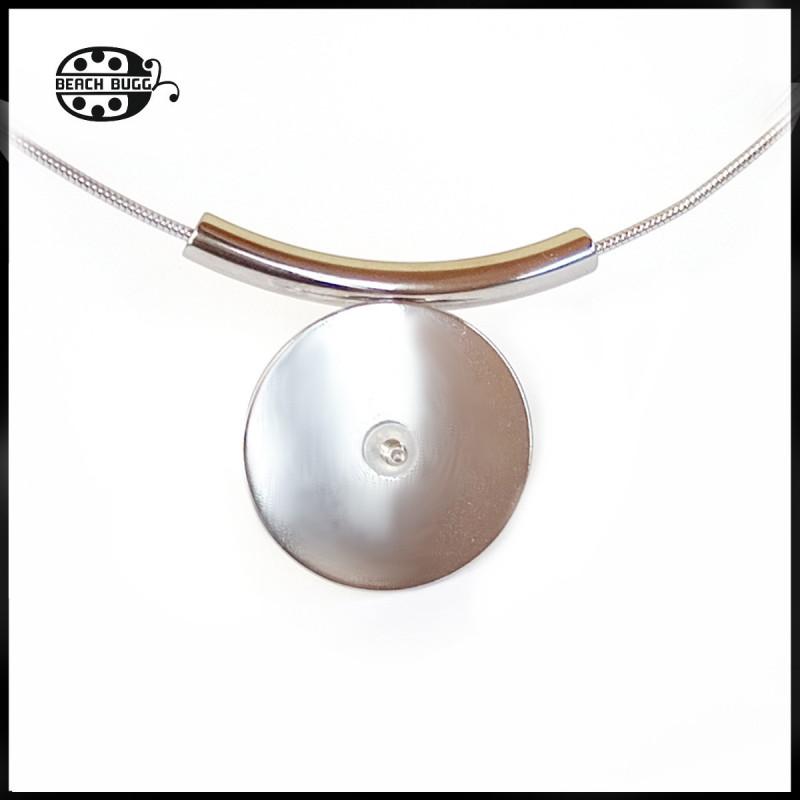 Bunny pendant bail - beadcap - with M2.5 thread
