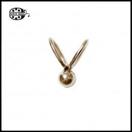 1 x bead clasps - mini Bunny