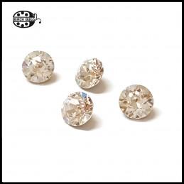 4 Swarovski Kristall für Klips Anhängers