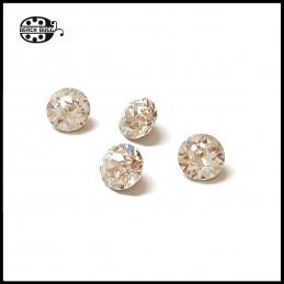 4 db Svaroski kristály kicsi petra klipsz medálokhoz
