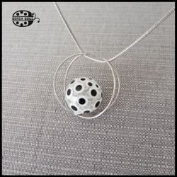 Moon pendant with M2.5 thread