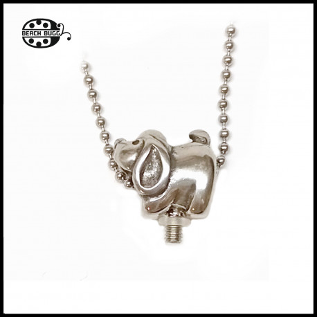M2.5 dog pendant with necklace