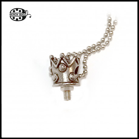 M2.5 crown  note pendant with necklace
