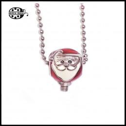 M2.5 santa claus pendant with necklace