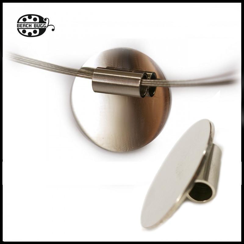 21mm cabochon pendant back clasp