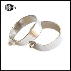 adjustable steel ring with M2.5 thread - small bead