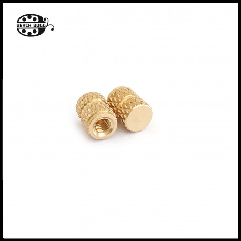 10 x M2.5 glue screw nut  6mm - closed