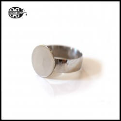 adjustable steel ring with glue surface
