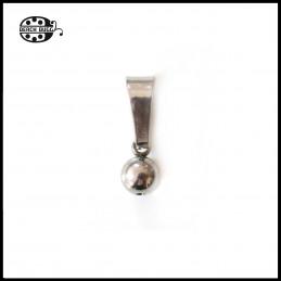 2x bead clasps - ball