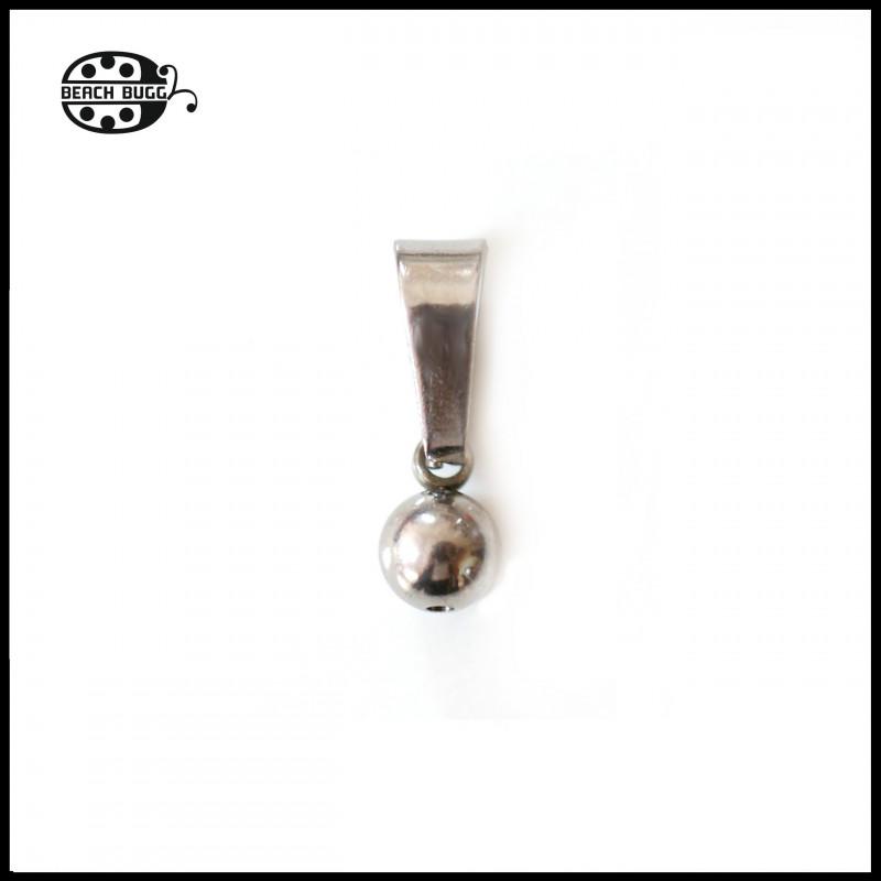 steel bead clasp
