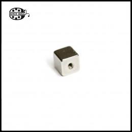 steel cube beads