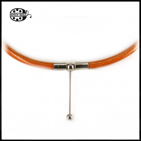 Luca leather necklace - 5mm