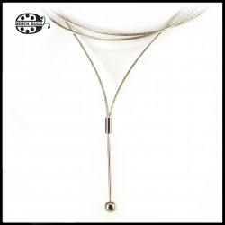 Cornelia steel necklace
