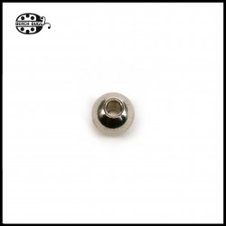 2x ball end beads with 2mm hole