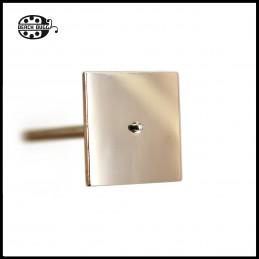 négyzet cabochon - 35mm
