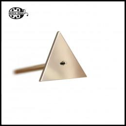 Dreieck Cabochon dorn edelstahl