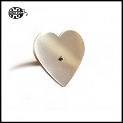 heart cabochon - 40mm