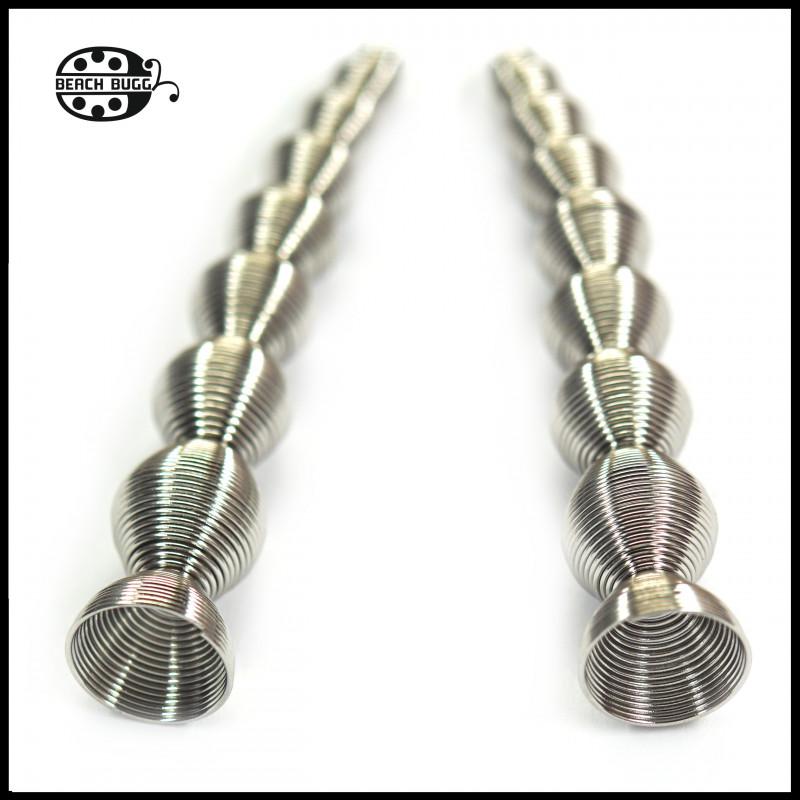 2 wire beadcaps - oval II.