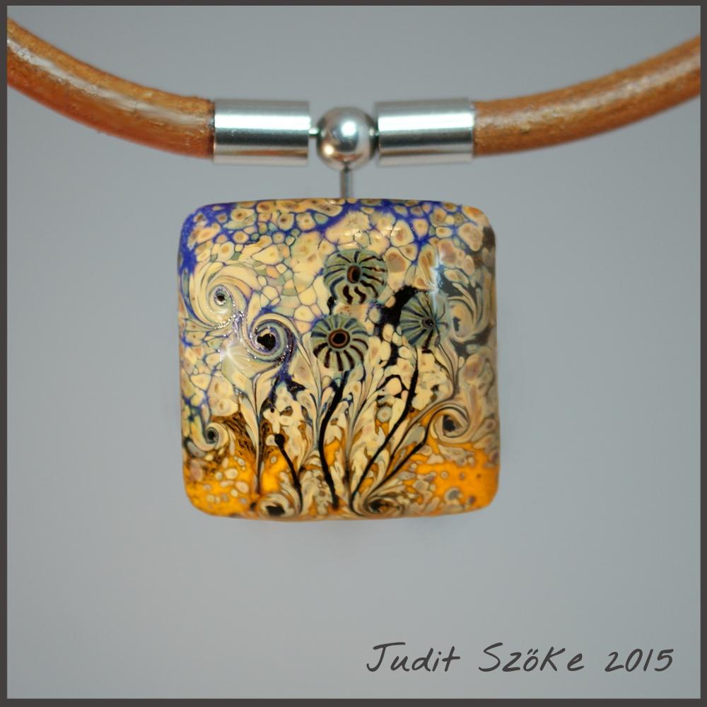 Szőke Judit virág medál